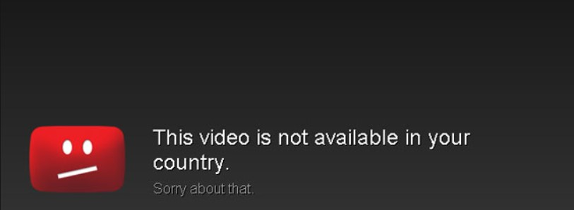 Blocked YouTube Video