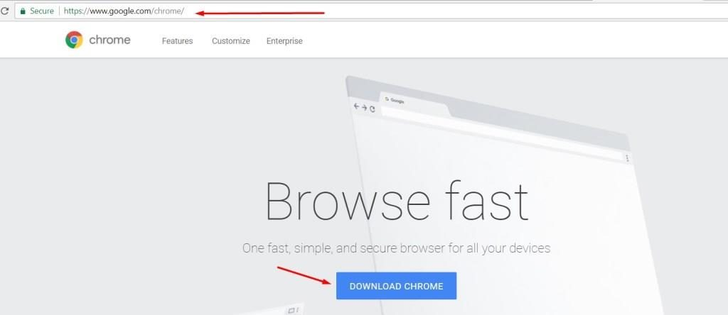 add google chrome
